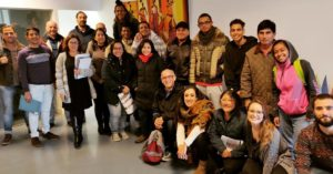 Beneficiarios de la ONG Ecos do Sur